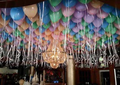 Heliumballonnen plafond