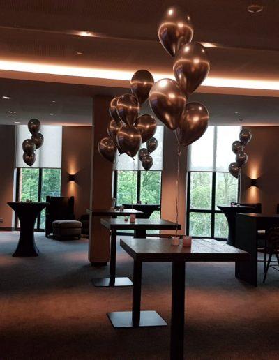 Heliumballonnen chrome vd Valk Utrecht