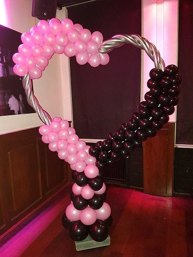 Ballonnen hartframe
