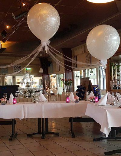Heliumballonnen huwelijk xxl